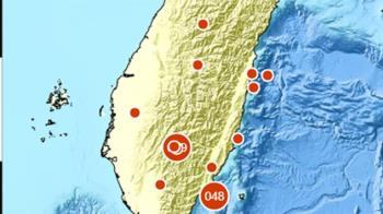 地牛翻身!7:56發生規模3.0地震 花蓮縣最大震度3級