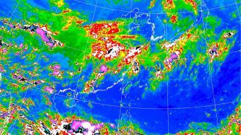 高溫飆38度!颱風最新路徑出爐 這天起好天氣又毀了