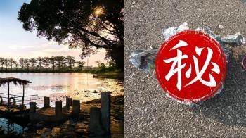 美國男湖邊驚見整顆大腦 一翻開竟有中文字紙錢