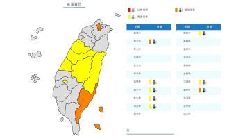 真的好熱! 台北、台東亮橙燈 高溫飆36度