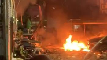 東海氣爆4死1傷 住戶逃命:房東阿嬤救了我