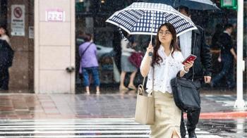 週末北東陣雨要帶傘 午後雷雨可能下到晚上