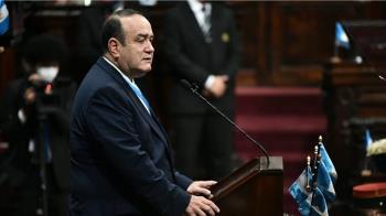 瓜地馬拉總統吉昂馬岱 檢測武漢肺炎結果呈陽性