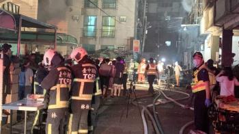 中市東海別墅區氣爆 住戶以為地震驚恐逃出