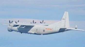 共機19架今再越中線擾台 空軍防空飛彈追蹤監控