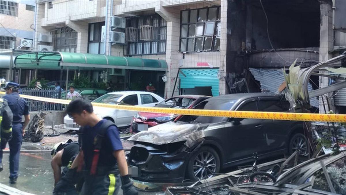 中市龍井氣爆釀4死 不排除人為肇禍警方查證中
