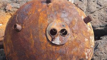 澎湖南方四島鋤頭嶼發現疑水雷爆裂物 海管處暫禁登島