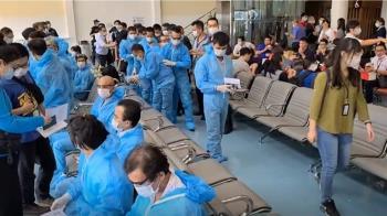 越南專機來台接逾期居留移工 289人秋節前返鄉