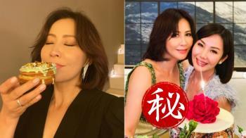 劉嘉玲穿低胸洋裝!一個前傾炸出54歲緊緻身材