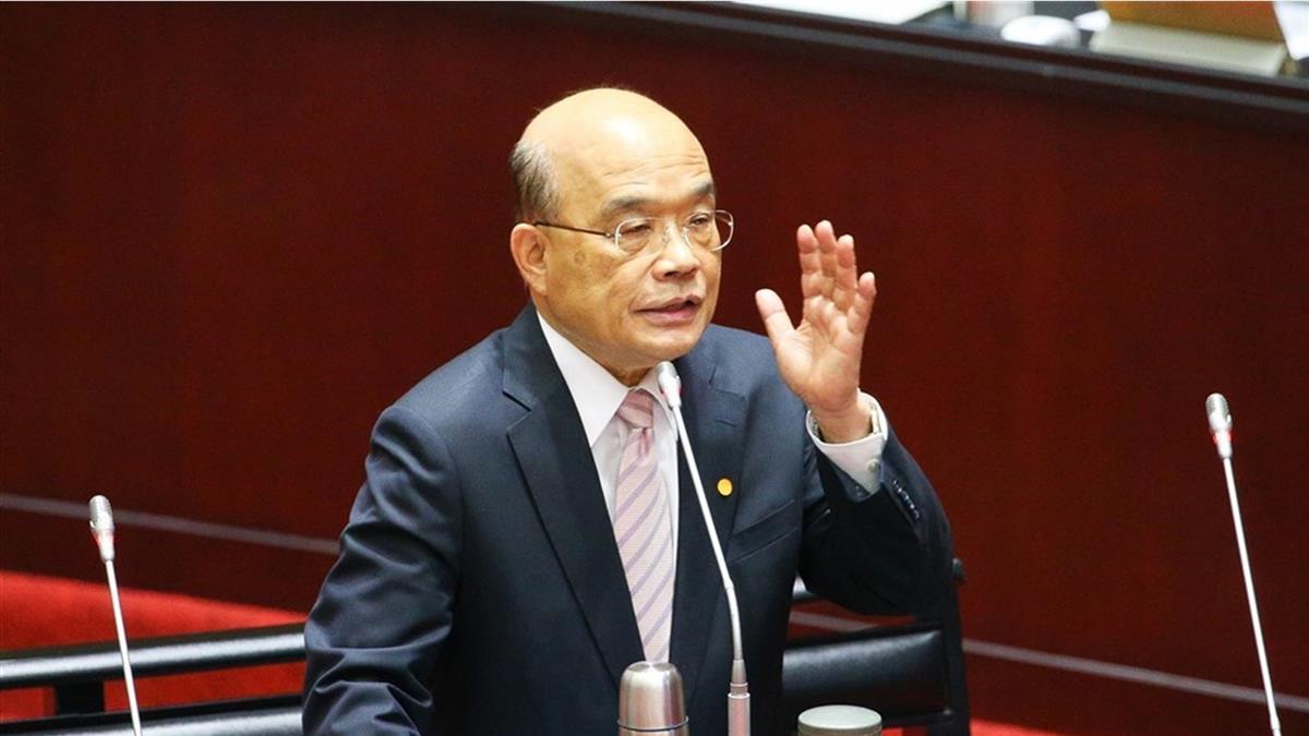 蘇貞昌22日立院施政報告 國民黨甲動不排除杯葛