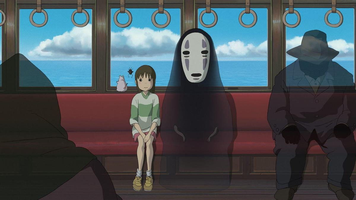 宮崎駿劇照大放送 《神隱少女》經典一幕:不會坐旁邊喔?