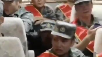 解放軍被送往中印邊境痛哭? 陸網:告別家人不捨