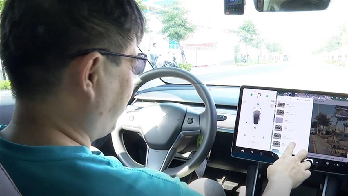 獨/偵測可疑人物「哨兵模式」自動錄影 車主:有死角