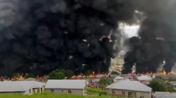奈及利亞氣槽車爆炸起火 至少28死