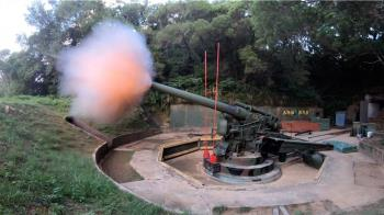 馬防部聯合反登陸作戰  240公厘砲王實彈射擊震撼