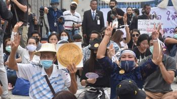 泰國會修憲進度拖延 群眾揚言拉高抗議層級