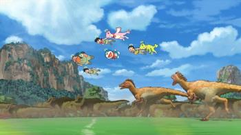 男神獻聲《大雄的新恐龍》三部18禁片圍攻哆啦A夢