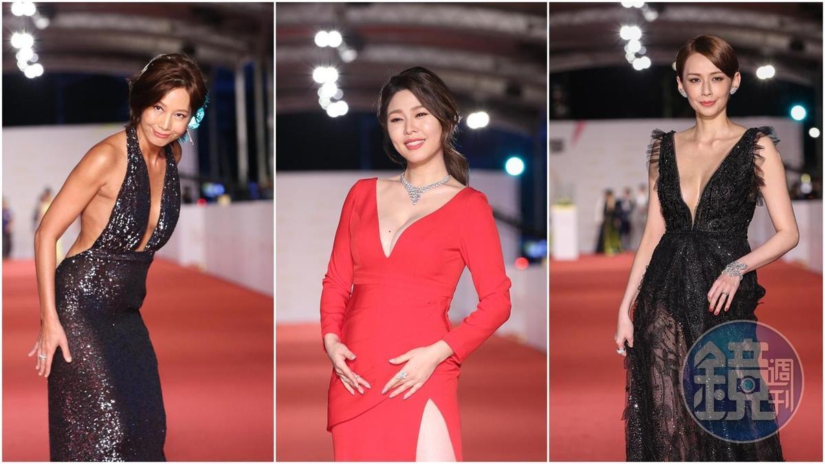 金鐘55紅毯女星爭奇鬥豔 堪稱最乳炸的一屆