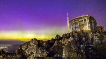 澳大利亞也可以看到絢麗的極光