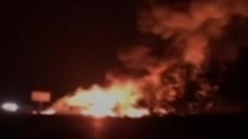 烏克蘭軍機墜毀影片曝光!倖存者還原現場恐怖情景