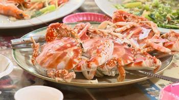 獨/漁民出船撈嘸!花蟹數量大減 中秋價格漲約4成