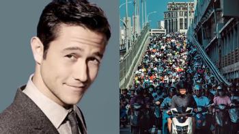 「台北橋機車瀑布」又紅了 好萊塢男星曬照宣傳台灣