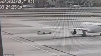 東航牽引車0減速…輾斃機務員 驚悚畫面曝光全怒了