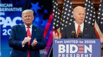 美國大選未辯論先過招!拜登亮報稅單 川普要查隱形耳機