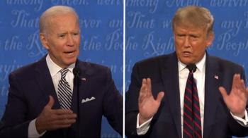 美選首場辯論吵翻天!川普猛插嘴 拜登嗆「最爛總統」:可以閉嘴嗎