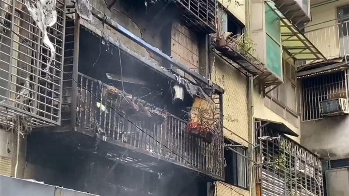 新店民宅清晨火警!9旬嬤被燒到慘叫 鄰居踹門仍救不出