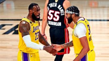湖人大勝熱火 NBA總冠軍拿下第一戰