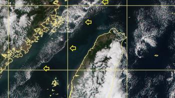 衛星雲圖驚見「海峽中線」!鄭明典揭開生成原因