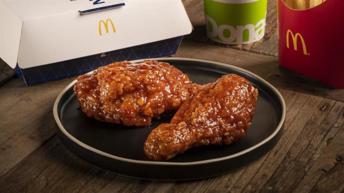 麥當勞也有韓式炸雞啦!期間限定「韓風炸鷄腿」美味開賣