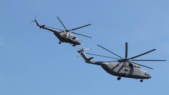 俄直升機侵領空 日戰機緊急升空驅離