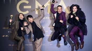 滅火器成軍20年奪最佳樂團  盼音樂人為台灣自傲