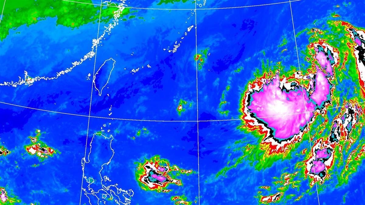 「昌鴻」颱風最快今生成 預測路徑又變!影響台灣時間曝