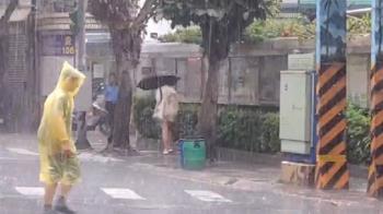 快訊/雨炸北台灣! 台北山區升級豪雨特報
