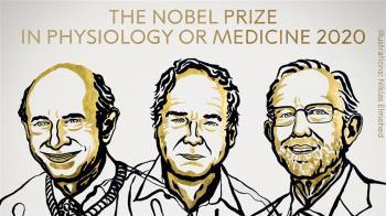 諾貝爾醫學獎得主出爐!  3學者共享殊榮