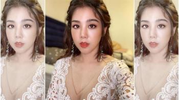 楊晨熙曬深V婚紗照 粉絲驚呼:要結婚了嗎?
