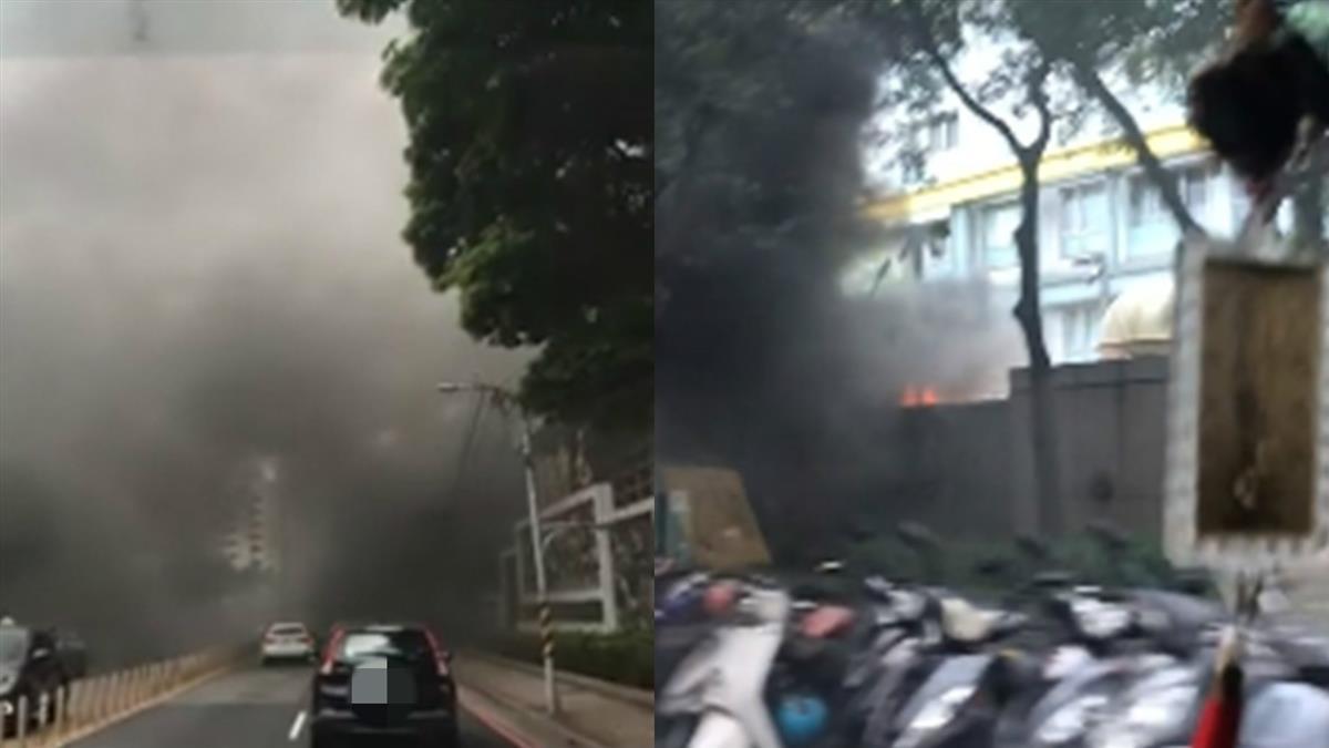 快訊/亞東捷運站驚傳火警!濃密黑煙竄天 嚇壞用路人