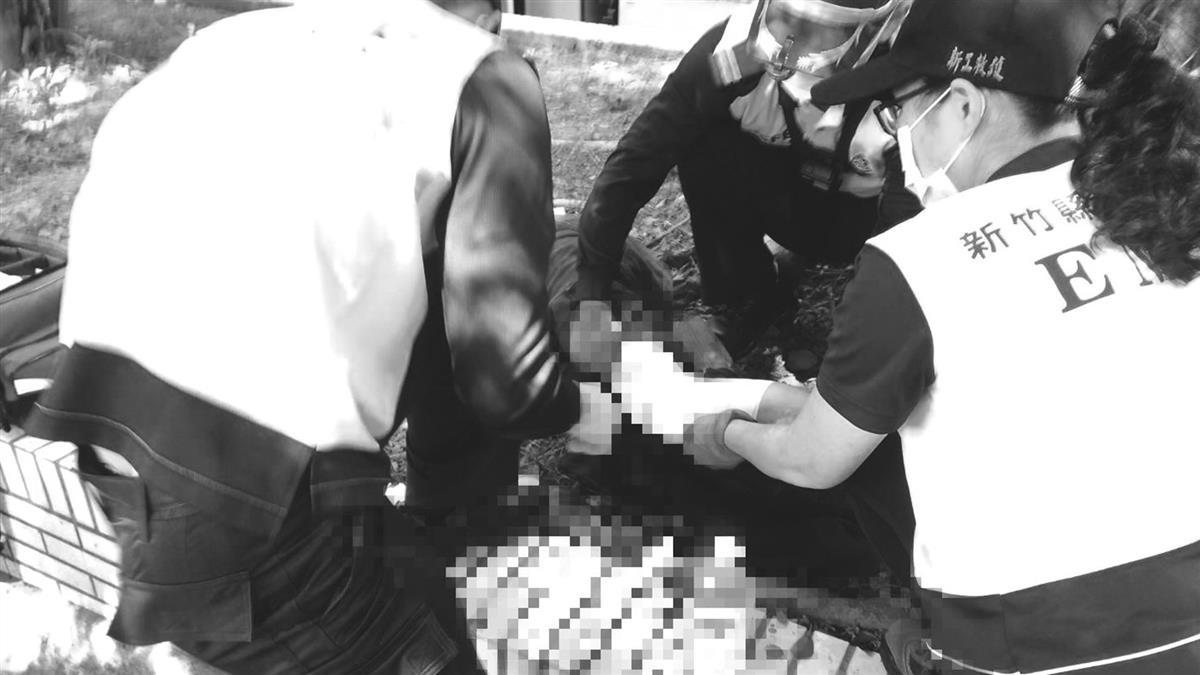 快訊/湖口休息站傳隨機砍人!男子對到眼遭砍3刀急送醫