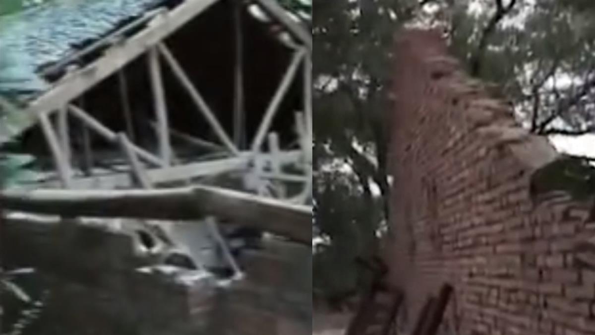 8旬翁壽宴吃一半 房子整個垮了!26親友埋瓦礫堆