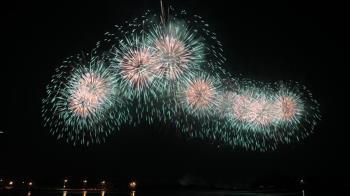 國慶焰火在台南估湧20萬人 10日晚間8時散場管制