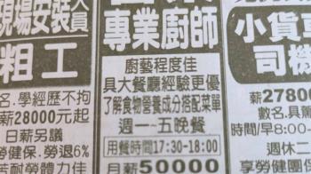 月薪5萬徵廚師!一周只煮5晚餐 男面試卻氣炸:找麻豆啊?