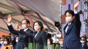 雙十國慶  總統副總統接受外賓祝賀