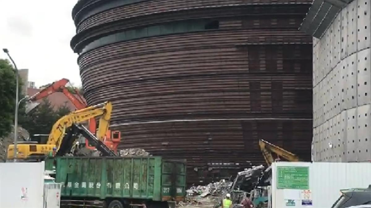 快訊/京華城拆除作業剛復工 B2發現乾屍疑竊賊失足