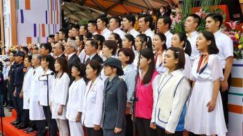 國慶致敬防疫英雄 蔡總統:讓國際看見堅韌之島
