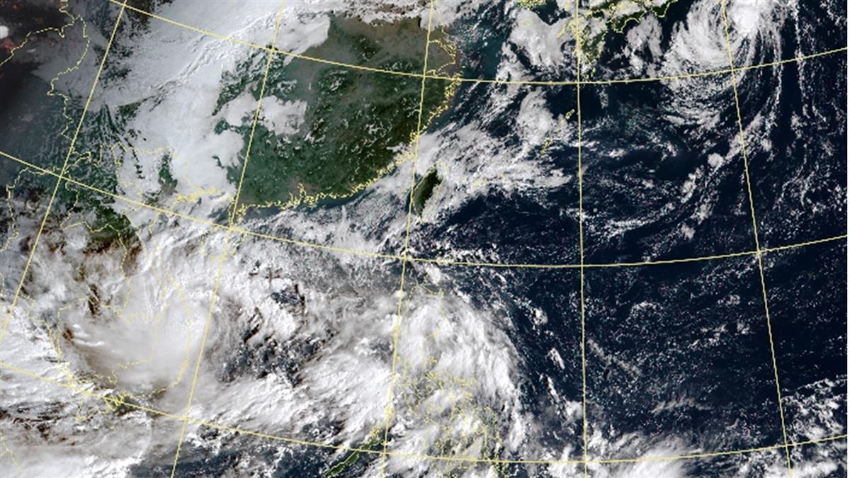 蓮花颱風生成!另熱帶擾動恐發展 今晚起連下雨4天熱區出爐