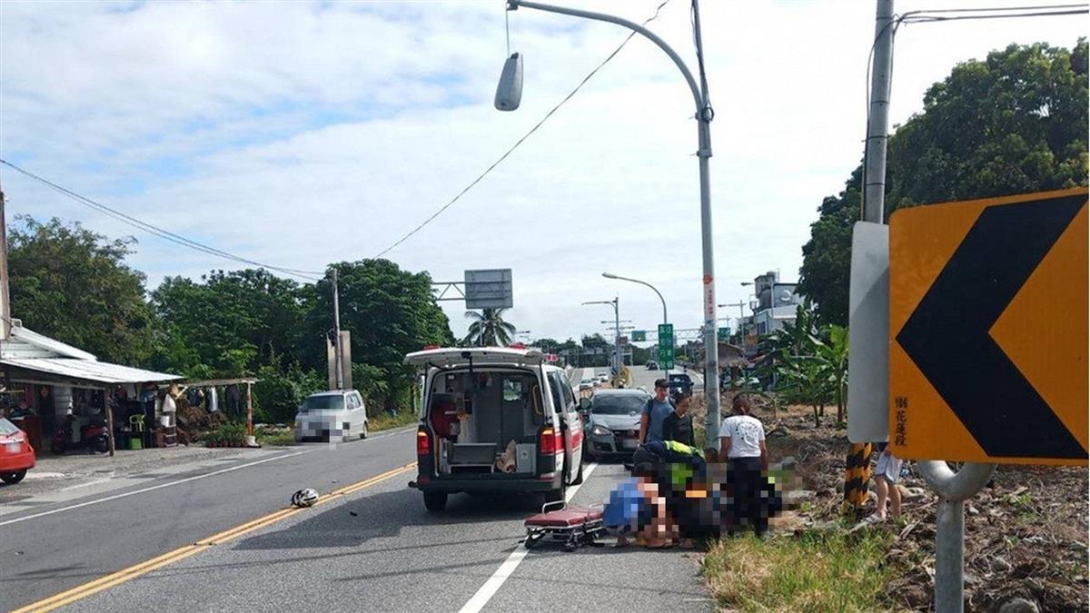 18歲龍舟女選手騎機車 撞電桿送醫不治