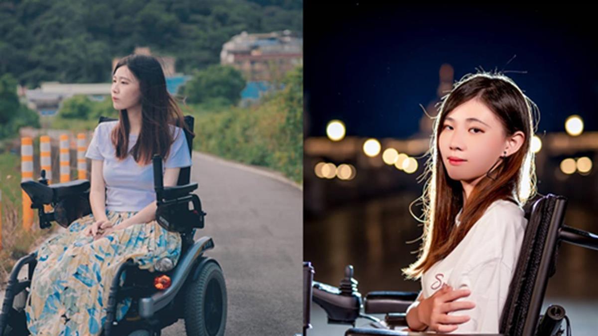 正妹患罕症!坐輪椅遭譏假殘障 陽光回應惹哭網